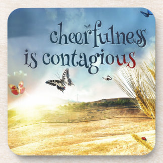 Cheerfulness Drink Coaster