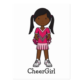 CheerGirl Postcard