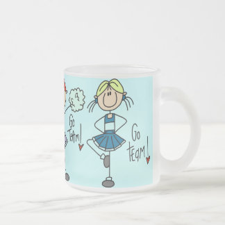 Cheering Squad Glass Mug