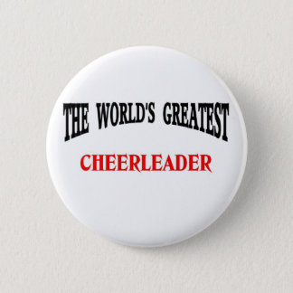 Cheerleader 2 Inch Round Button