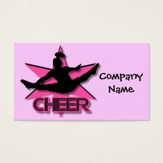Cheerleader Business Card