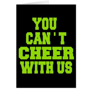 Cheerleader Note Card