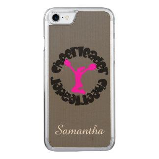 Cheerleader Carved iPhone 7 Case