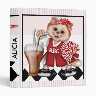 "CHEERLEADER CAT Avery Signature 1"" Binder"