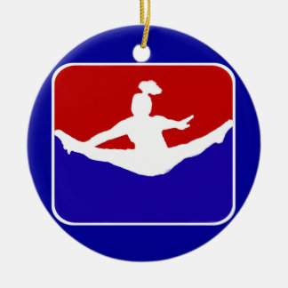 Cheerleader Ceramic Ornament