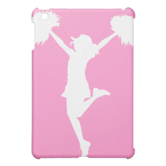 Cheerleader Cheering with Customizable Background Case For The iPad Mini