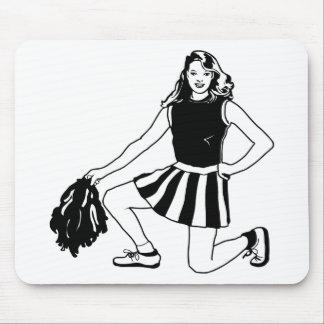 Cheerleader Cheerleading Mouse Pad