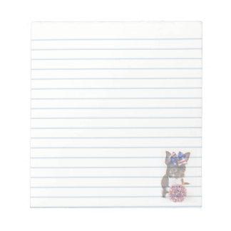 Cheerleader Chihuahua  dog notepad