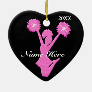Cheerleader Christmas Ornaments PERSONALIZED