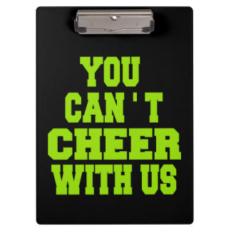 Cheerleader Clipboards