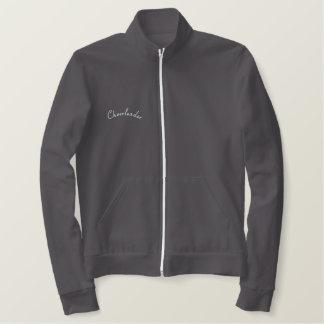 Cheerleader-Embroidered Jacket