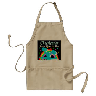 CHEERLEADER FROM BOW TO TOW STANDARD APRON