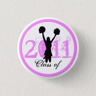 Cheerleader Graduation Class of 2011 Button 1