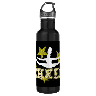 Cheerleader gymnast 710 ml water bottle