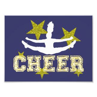Cheerleader gymnast art photo