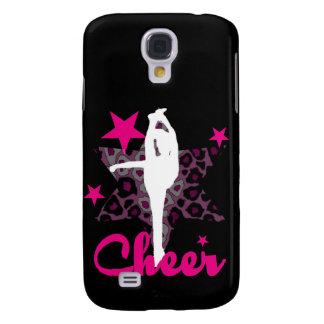 Cheerleader in pink