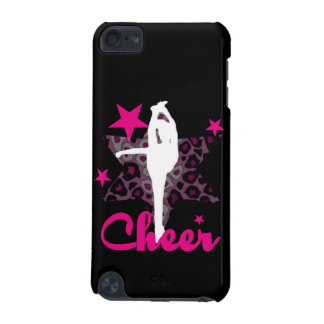 Cheerleader in pink iPod touch 5G covers