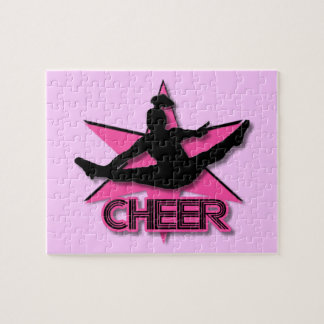 Cheerleader Jigsaw Puzzle