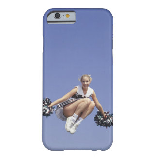 Cheerleader jumping, low angle view, portrait barely there iPhone 6 case