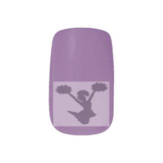 Cheerleader Minx Nail Art