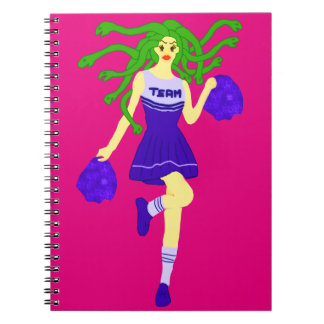 cheerleader monster notebook
