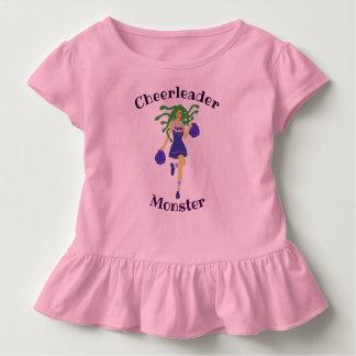cheerleader monster toddler t-shirt