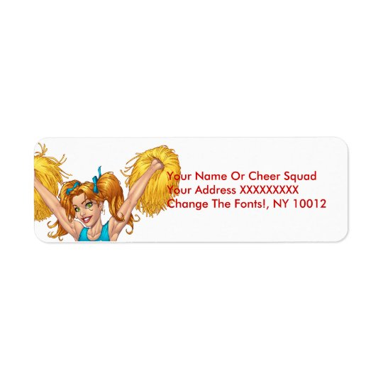Cheerleader or Cheerleading with Pom-Poms - Al Rio