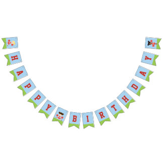 Cheerleader Party Bunting Flags