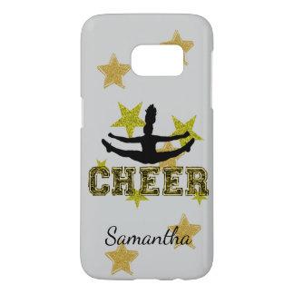 Cheerleader personalized Samsung 7 phone case