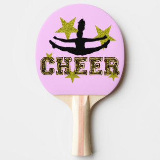 Cheerleader Ping Pong Paddle