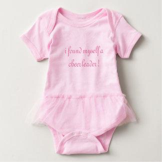 Cheerleader Pink Tutu Onsie Baby Bodysuit