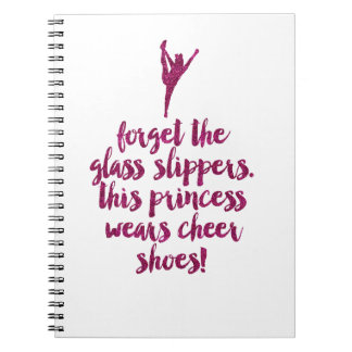 Cheerleader Quote Notebook
