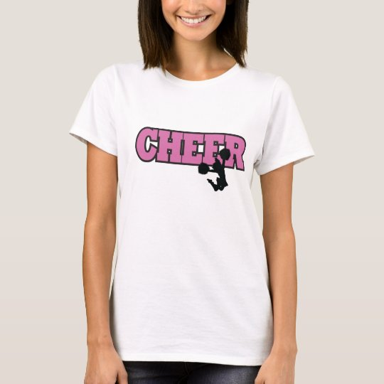 cheerleader short sleeve t-shirt