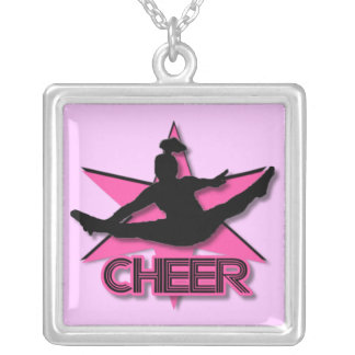 Cheerleader Silver Plated Necklace