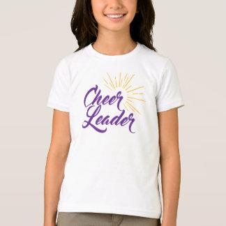 Cheerleader T-Shirt - Purple & Gold