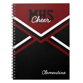 Cheerleader Uniform School Notebook
