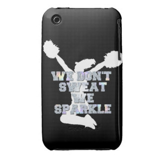 Cheerleader we sparkle Case-Mate iPhone 3 cases