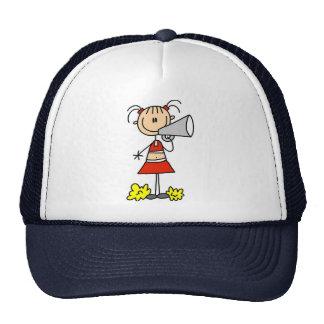 Cheerleader with Megaphone  Trucker Hat