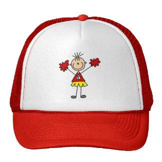 Cheerleader With Pom Poms Hat