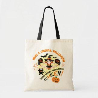 Cheerleader's Halloween Tote Bag