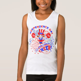 Cheerleader's, Independence Day, 4th July, Cheer Tank Top