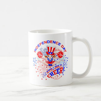 Cheerleader's Independence Day Coffee Mug