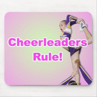 Cheerleaders Rule Mouse Pad