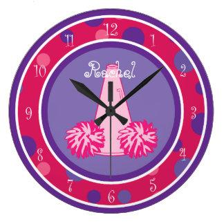 Cheerleading Cheerleader Wall Clock