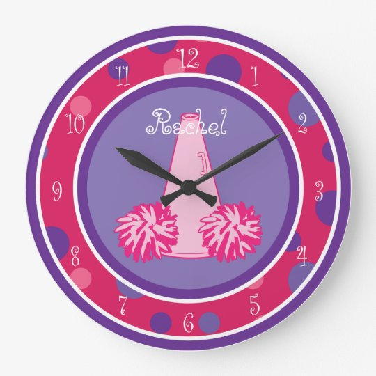 Cheerleading Cheerleader Wall Clock