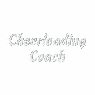 Cheerleading Coach-Jacket-Embroidered Jacket