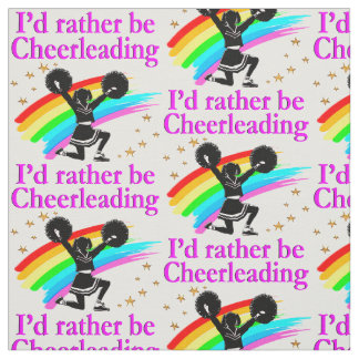 CHEERLEADING FOREVER FABRIC