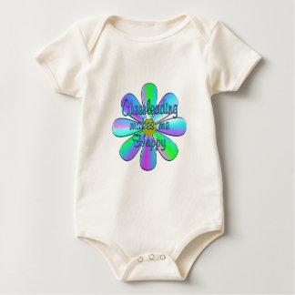 Cheerleading Happy Baby Bodysuit