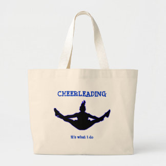Cheerleading It's What I Do Tote Bag