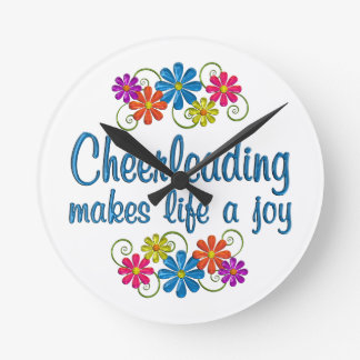 Cheerleading Joy Clocks